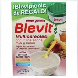 Blevit Plus Multicereales con miel 600 gr + Regalo Blevipicnic