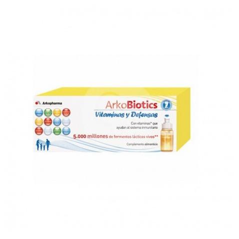 Arkoprobiotics Vitaminas Y Defensas Infantil 7 Unidosis