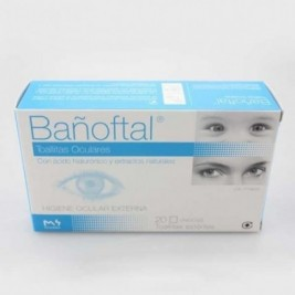 Bañoftal 20 Toallitas Oculares