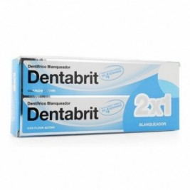 Dentabrit Pasta Dental Blanqueadora 125 ml 2x1