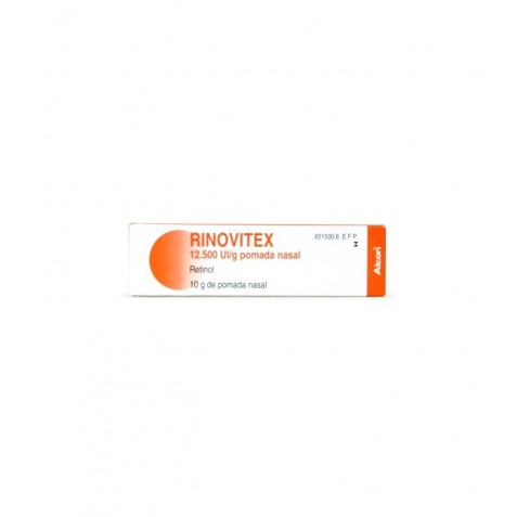 Rinovitex 12500 Ui/g Pomada 10 G comprar farmacia online