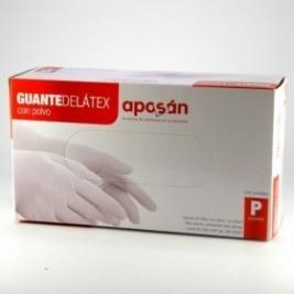 Aposan Guante Latex Pq 100 uds