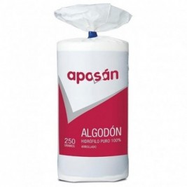 Aposan Algodon Arroll 250 Gr*