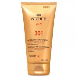 Nuxe Sun Coffret De Viaje Con Crema Deliciosa Alta Proteccion Spf30 Con Flores Acuaticas Y Solares + Regalo Champu Y Gel 50Ml