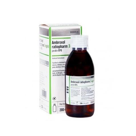 Ambroxol Ratiopharm Efg 15 Mg/5 Ml Jarabe 200 Ml