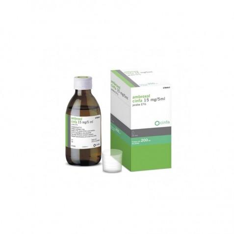 Ambroxol Cinfa Efg 15 Mg/5 Ml Jarabe 200 Ml