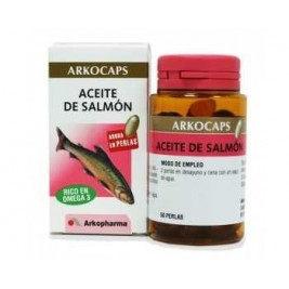 Arkocapsulas Aceite De Salmon 50 Perlas