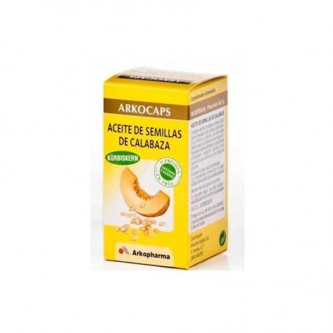 Arkocapsulas Aceite De Semillas De Calabaza 50 Caps