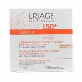 Uriage Bariesun Crema Mineral Compacta SPF50+ Color Claro 10g