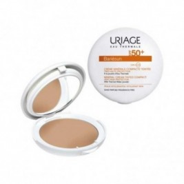 Uriage Bariesun Crema Mineral Compacta SPF50+ Color Dorado 10g