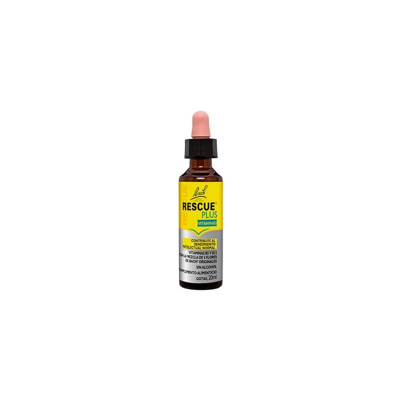 BACH RESCUE PLUS GOTERO 20ML - Farmacia Vistabella