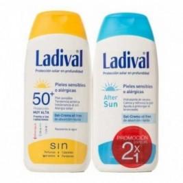 ladival fotoprotector 2x1: protector solar Spf50+ Aftersun piel sensible