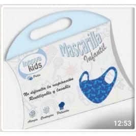 Mascarilla infantil Niño + Mascarilla infantil Unisex