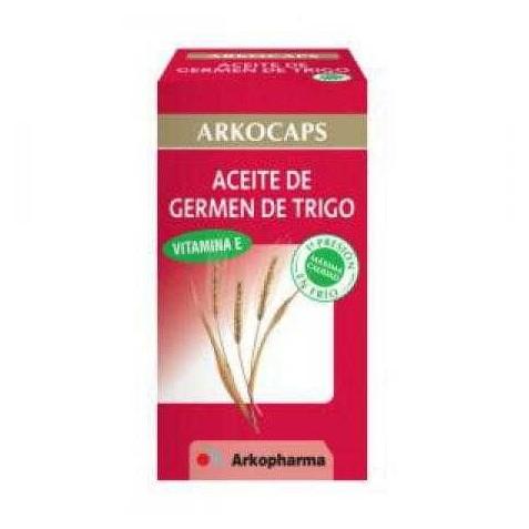 Arkocaps Aceite De Germen De Trigo 80 Cápsulas